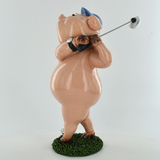 Comical Pigs - Playing Golf