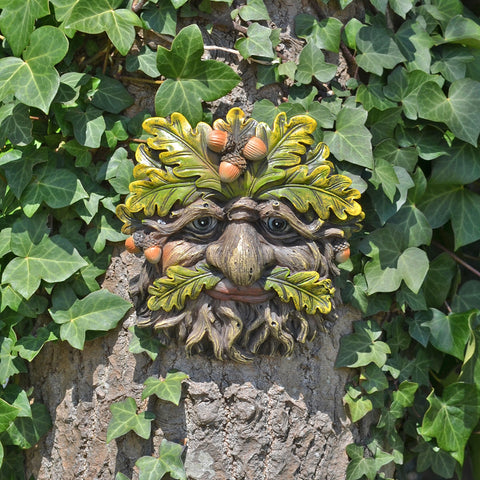 Tree Face Plaque - Trunkcorn