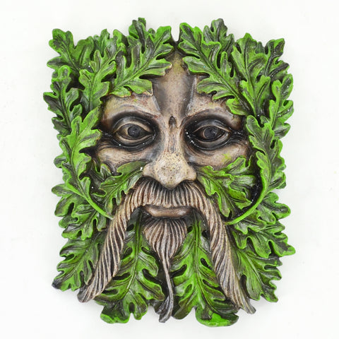 Tree Face Plaque - Albus