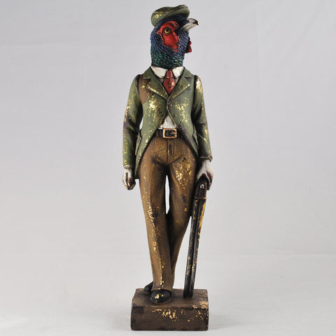 Dapper Pheasant on the Hunt
