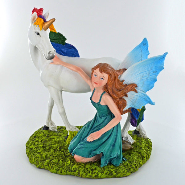 Summer Fairy Blue, with Unicorn - Prezents.com