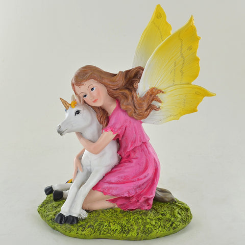 Summer Fairy Pink, with Unicorn - Prezents.com