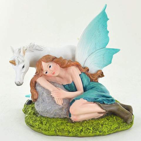 Summer Fairy Green, with Unicorn - Prezents.com