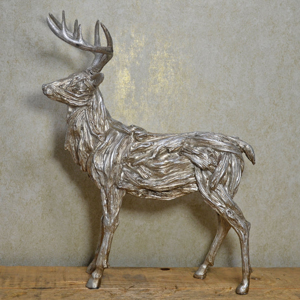 Winter Deer Standing Christmas Ornament - Prezents.com