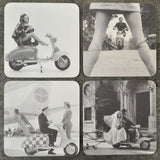 Lambretta Vintage Photo Coaster Set - Prezents  - 1