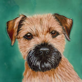 Border Terrier Decorative Ceramic Tile by Christine Varley - Prezents.com