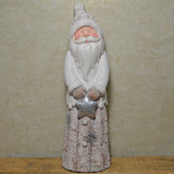 Snowy Santa Christmas Ornament - Prezents.com