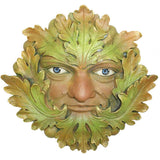 Green Heritage Greenman Garden Wall Art by David Lawrence - Prezents  - 2