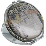 L.S Lowry Coming From The Mill Compact Mirror - Prezents  - 2