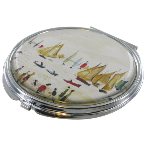 L.S Lowry Yachts Compact Mirror - Prezents  - 1