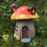 Fairy House - Toadstool With Lights - Prezents.com