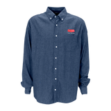 B1801T Mens Tall Hudson Denim Shirt