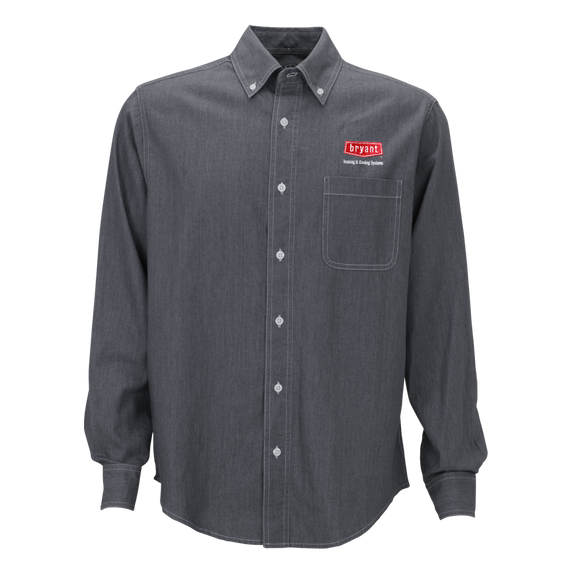 B1801M Mens Hudson Denim Shirt