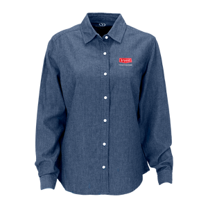 B1801W Ladies Hudson Denim Shirt