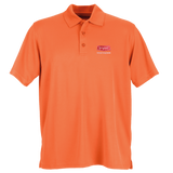 B1803M Mens Vansport Omega Solid Mesh Tech Polo