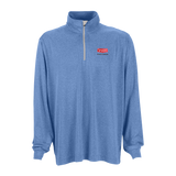 B1807M Mens Vansport Melange 1/4 Zip Tech Pullover