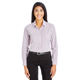 B1980 Ladies CrownLux Performance Micro Windowpane Shirt