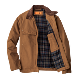B1828 Mens Washed Duck Cloth Chore Coat