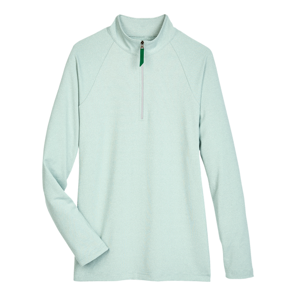B2029W Ladies Clubhouse Micro-Stripe 1/4 Zip