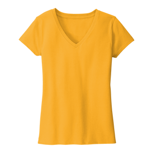 B2063W Ladies Re-Tee V-Neck