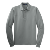 B1308MTLS Mens Tall Silk Touch Long Sleeve Polo