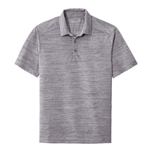 B2010 Men's Stretch Heather Polo