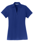 B1669 Ladies Silk Touch Y-Neck Polo