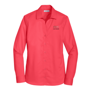 B1916W Ladies Non-Iron Twill Shirt