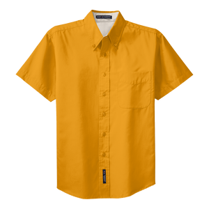 B1302MSS Mens Easy Care Short Sleeve Shirt