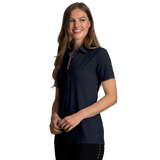 B2077W Ladies X-Lite 50 Solid Woven Polo
