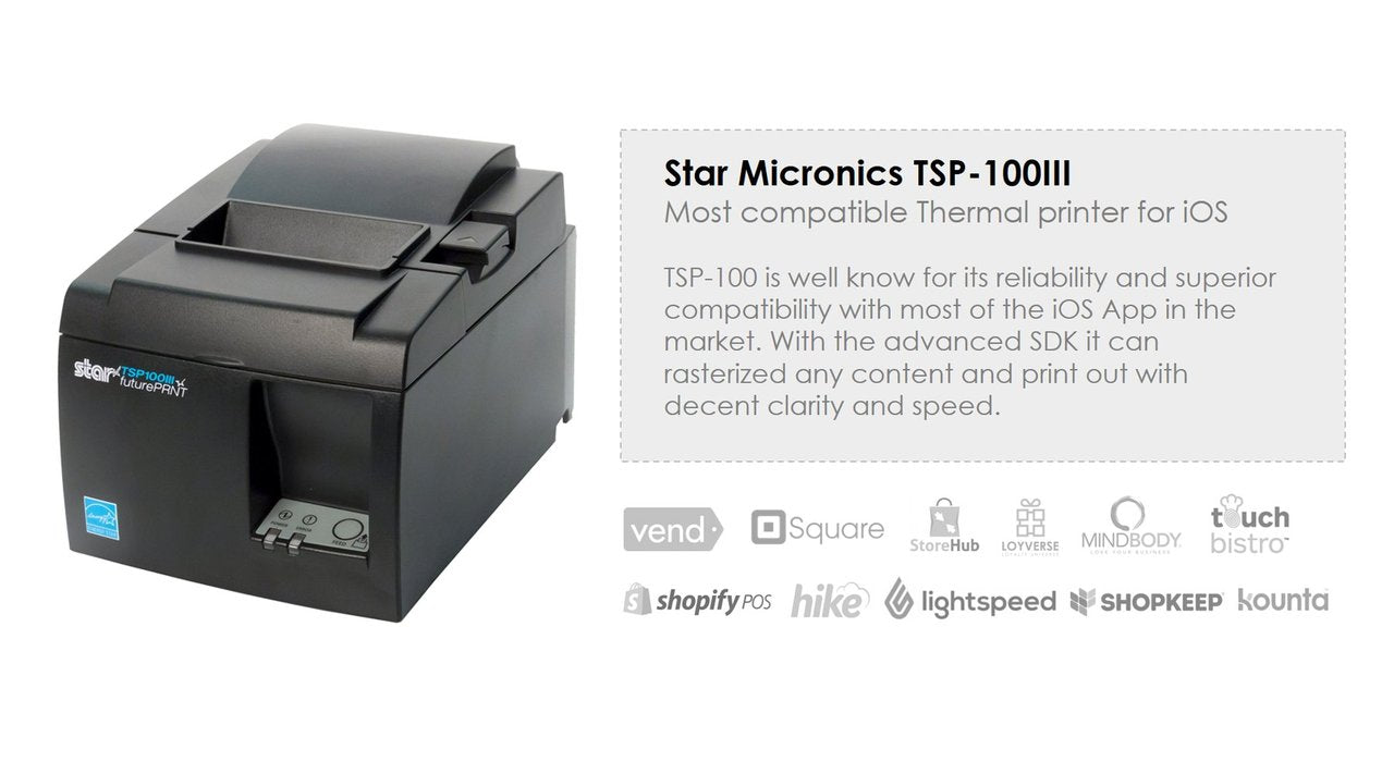 Star Micronics TSP-143E 80mm Thermal Receipt Printer