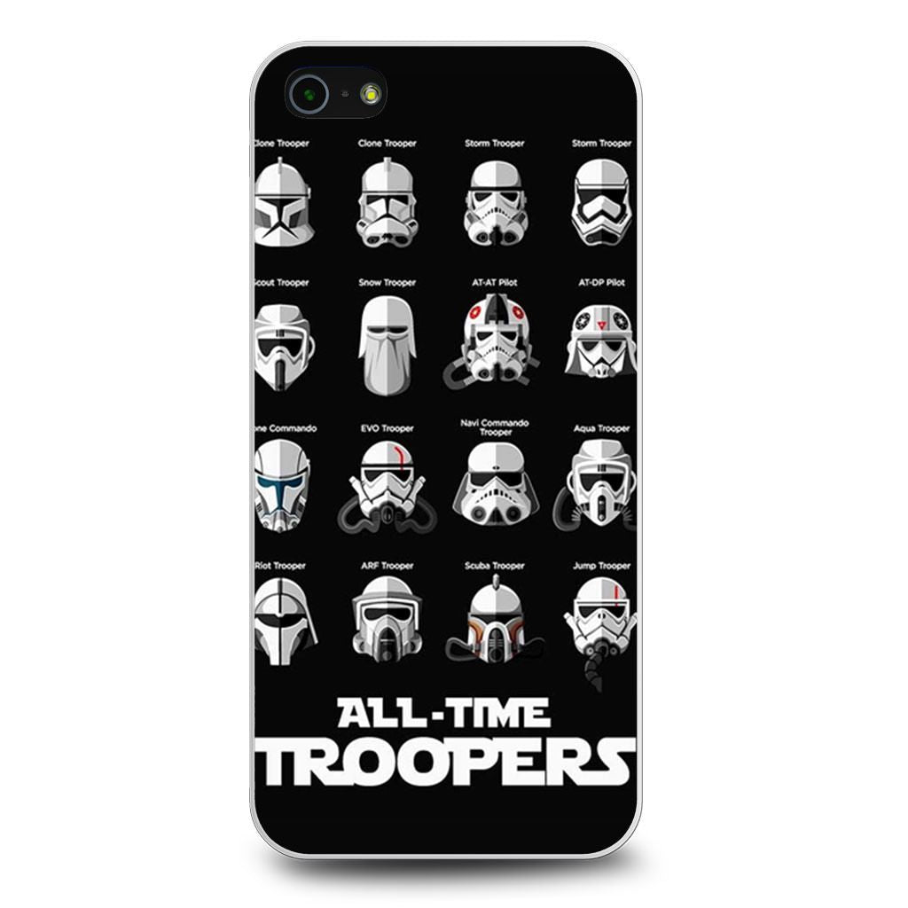 All Time Troopers Stormtrooper Star Wars iPhone 5/5s/SE case