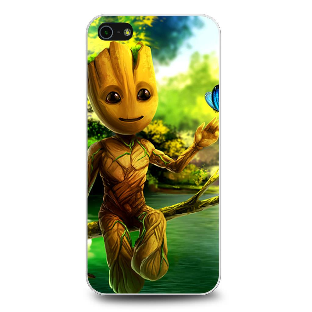 Baby Groot Guardians Of The Galaxy iPhone 5/5s/SE case