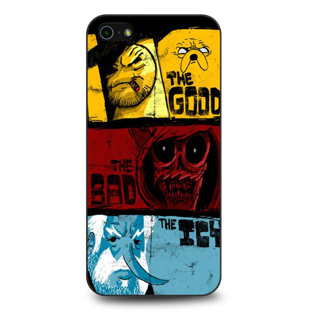 Adventure Time Samurai Jack Good Bad Icy iPhone 5/5s/SE case