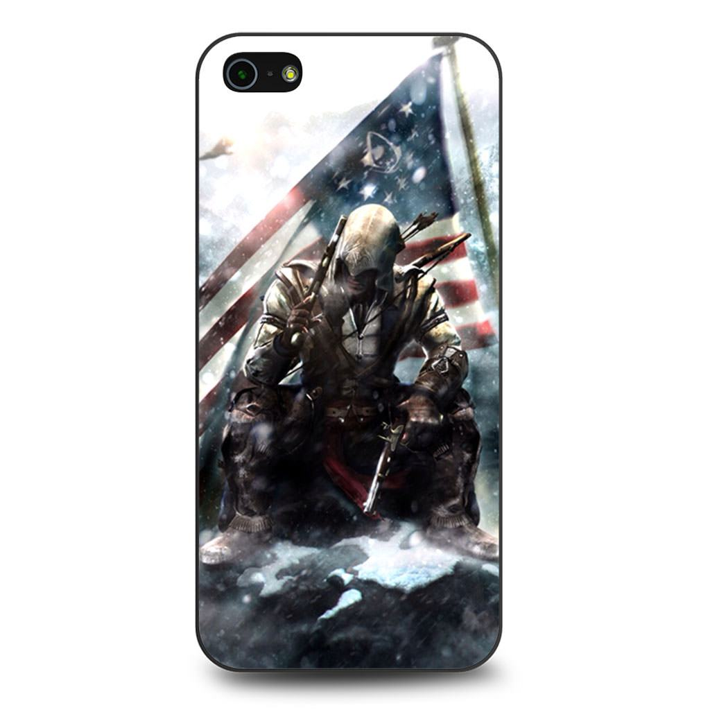 Assassin's Creed Connor Davenport iPhone 5/5s/SE case