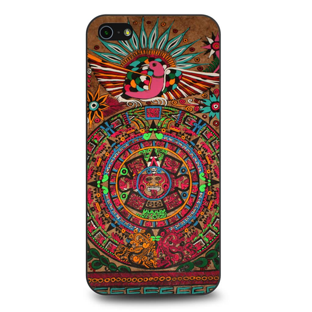 Aztec Mayan Sun And Moon iPhone 5/5s/SE case