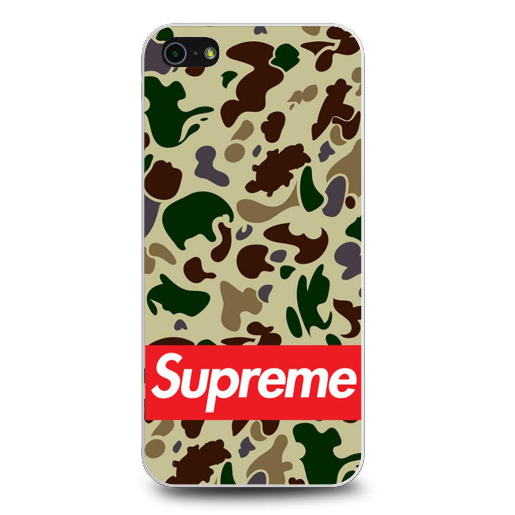 Bape Bathing Ape Camo Supreme iPhone 5/5s/SE case
