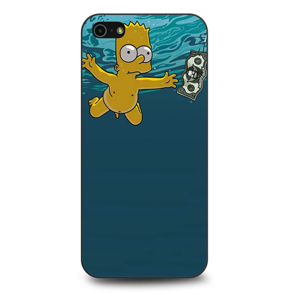 Bart Simpson Nirvana Nevermind iPhone 5/5s/SE case