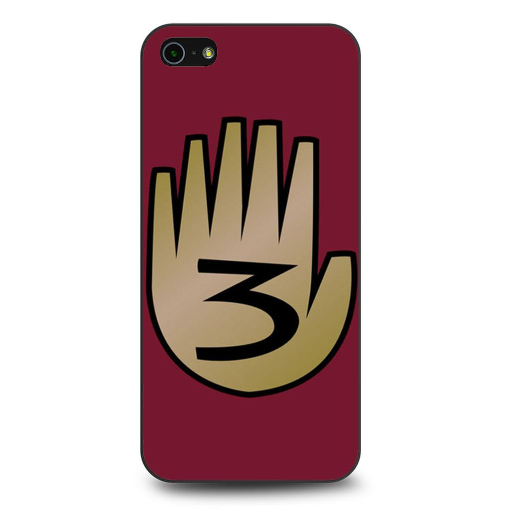 3 Gravity Falls Book 3 Mystery Twins iPhone 5/5s/SE case