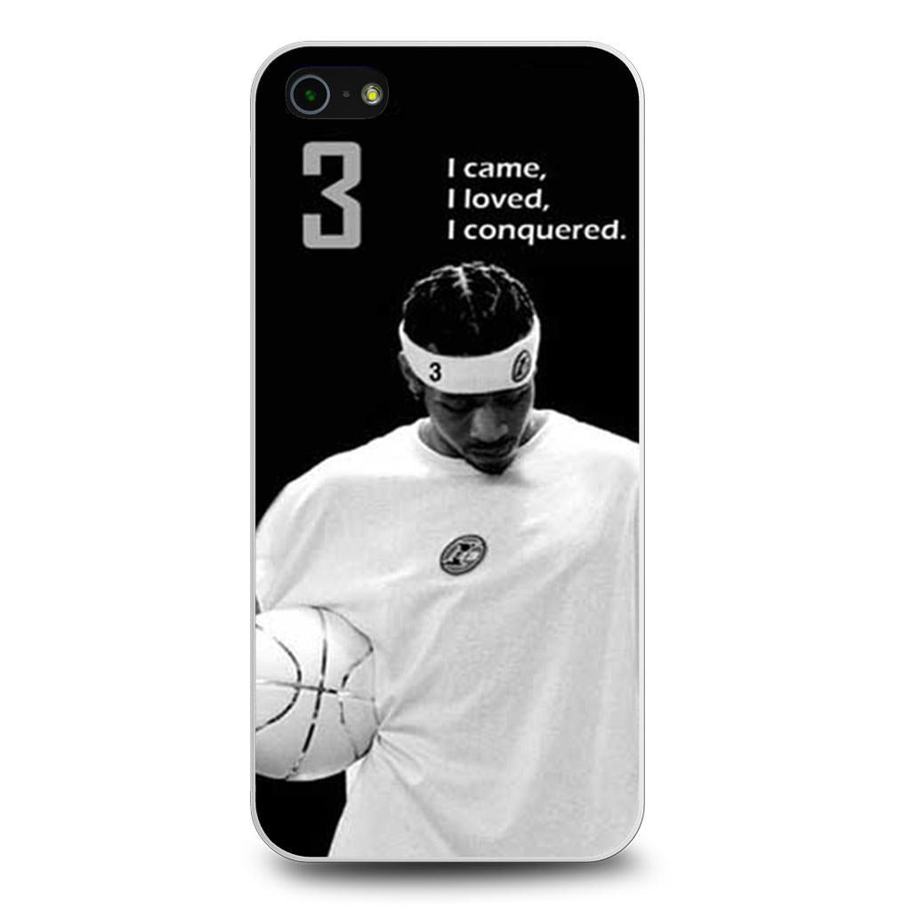 Allen Iverson iPhone 5/5s/SE case