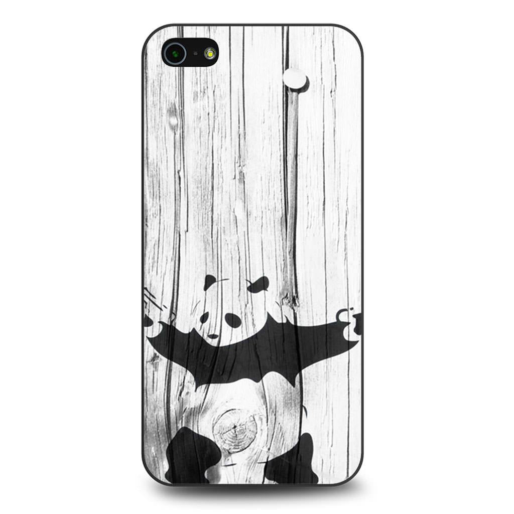Banksy Graffiti Panda iPhone 5/5s/SE case
