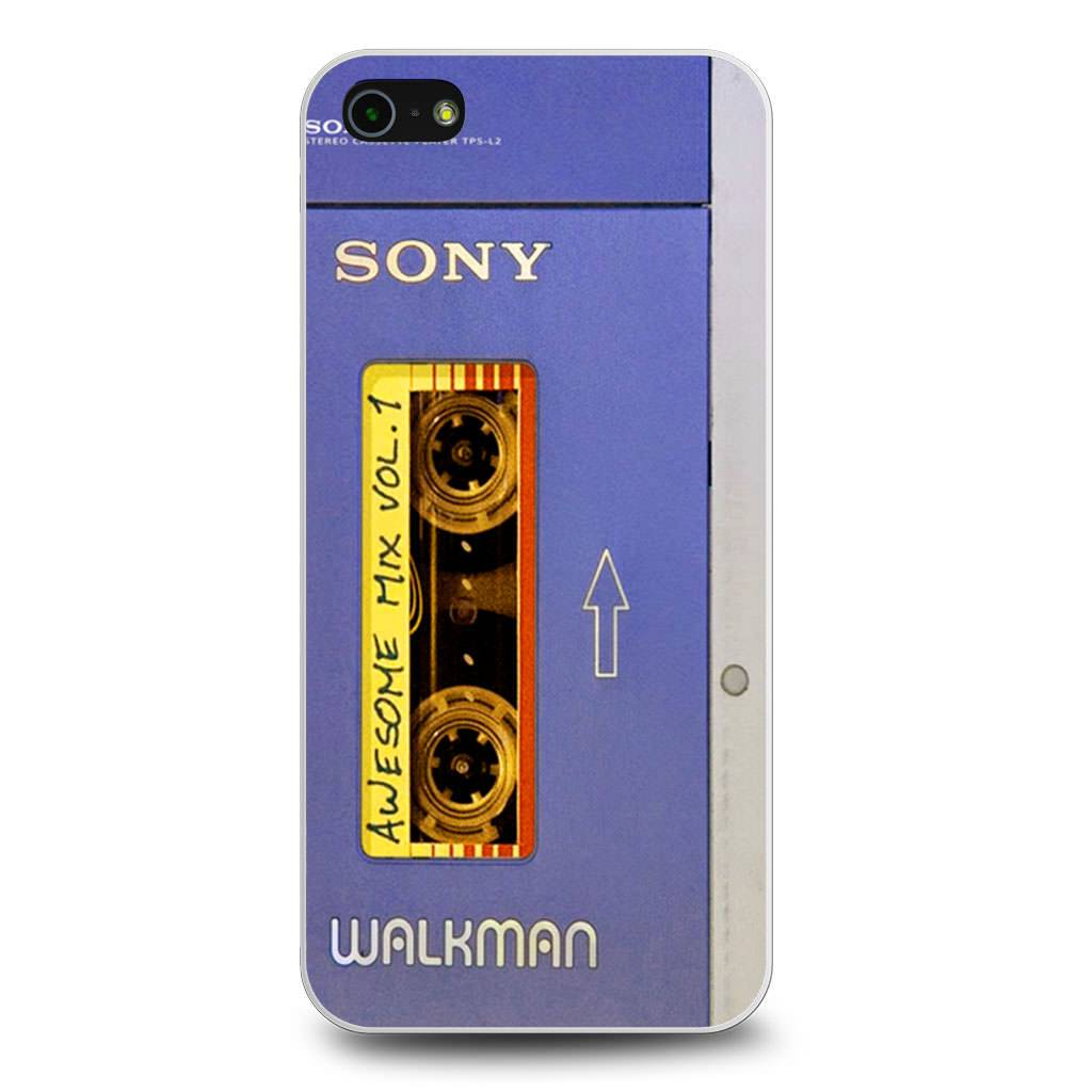 Awesome Mix Tape Vol 1 Sony Walkman iPhone 5/5s/SE case