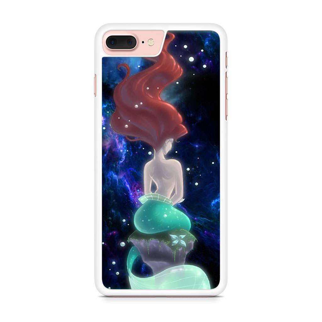 Ariel Little Mermaid Galaxy iPhone 7 Plus case