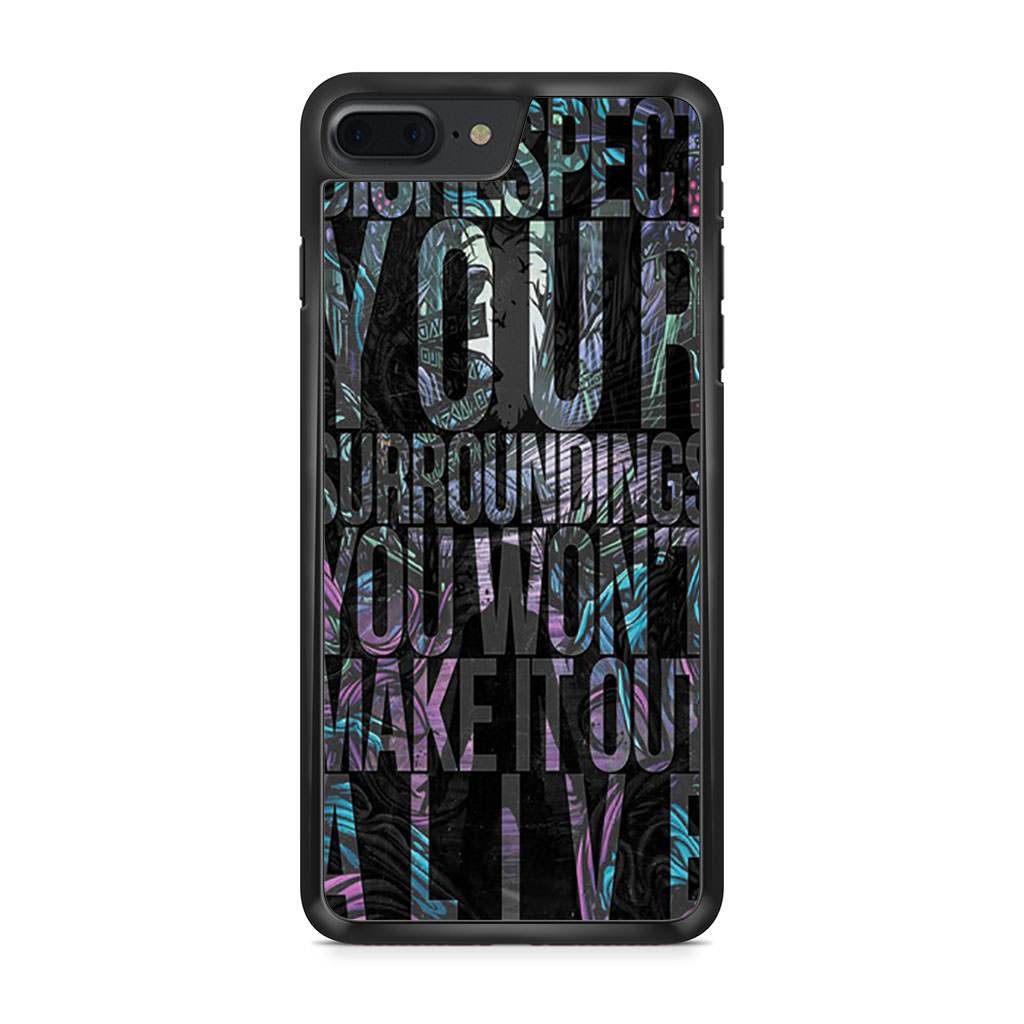 A Day To Remember Mr Highway's Thinking iPhone 7 Plus case