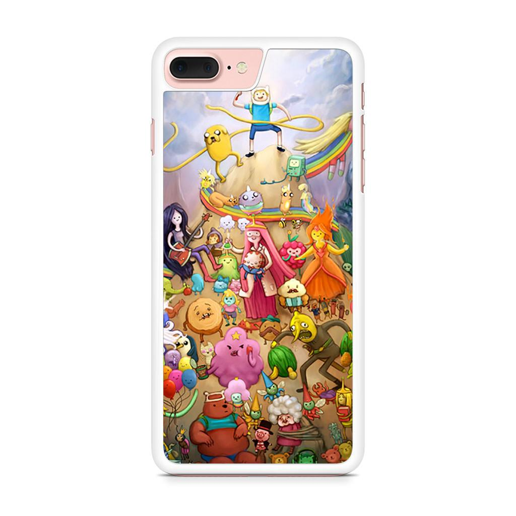 Adventure Time All Characters iPhone 7 Plus case