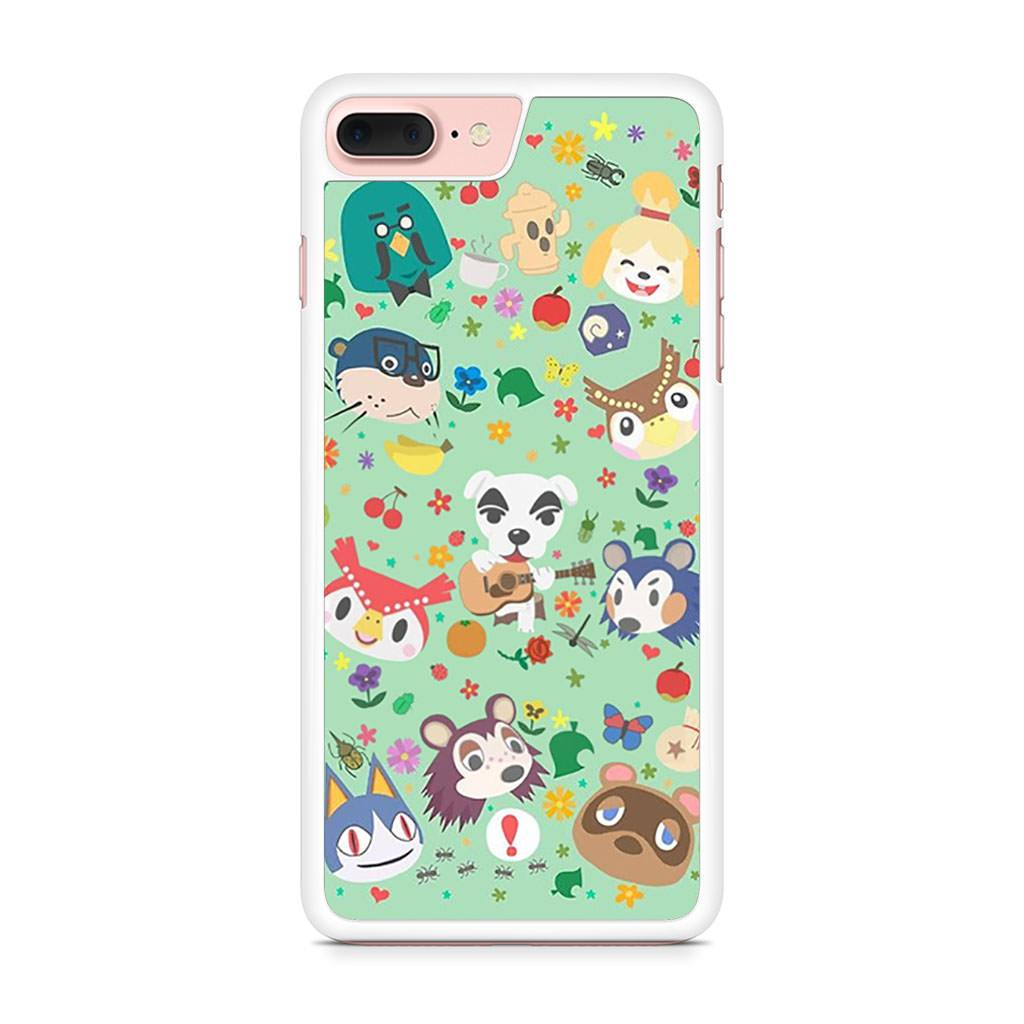 Animal Crossing New Leaf Town Folk iPhone 7 Plus case