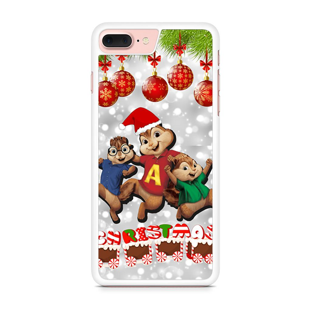 Alvin and the Chipmunks Christmas iPhone 7 Plus case