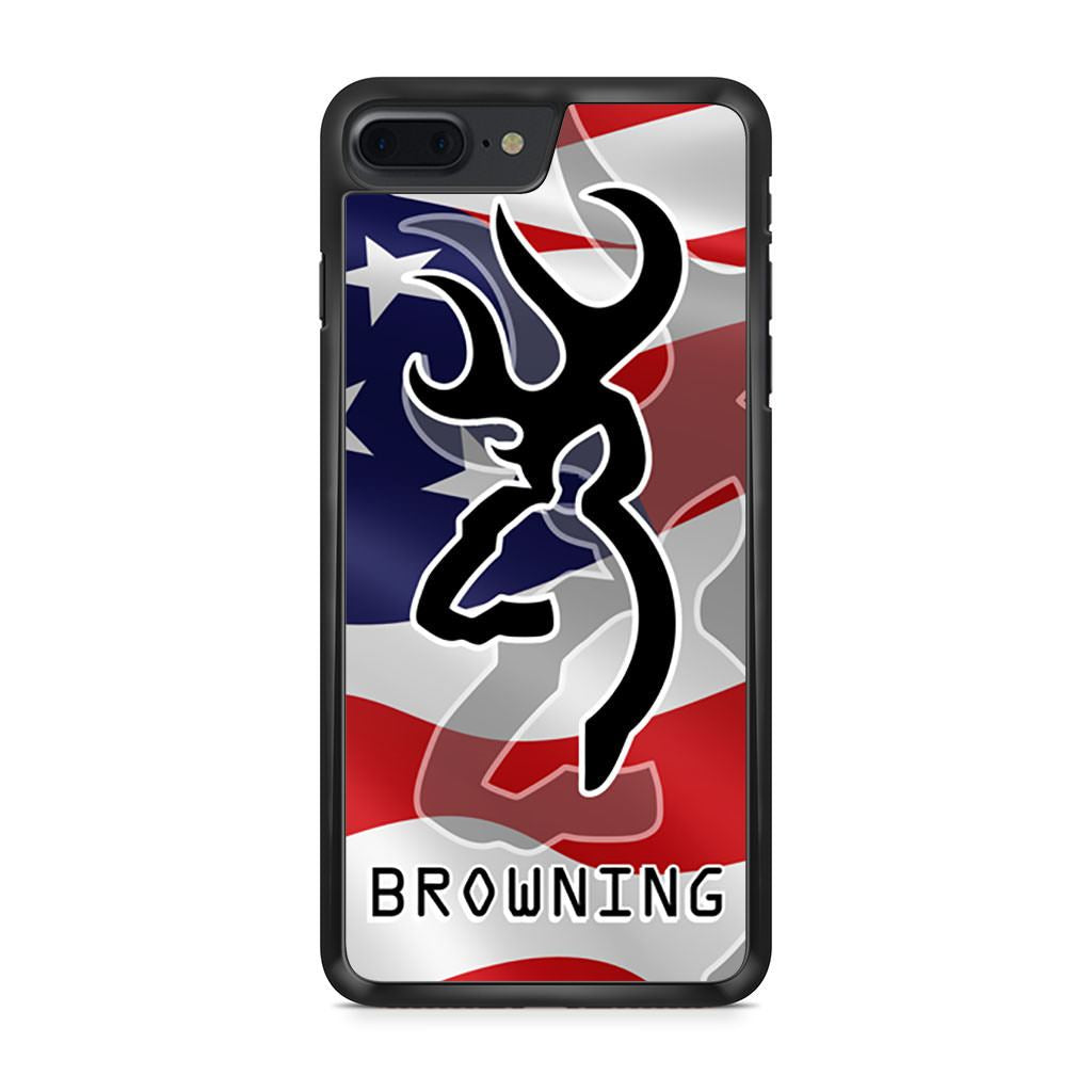 American Flag Browning Deer iPhone 7 Plus case
