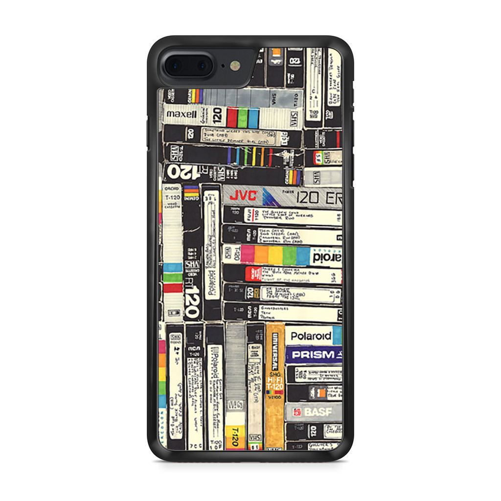 90s Vhs Polaroid Tapes iPhone 7 Plus case