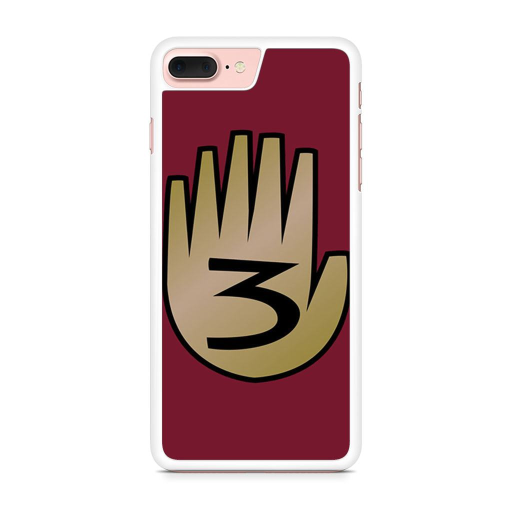 3 Gravity Falls Book 3 Mystery Twins iPhone 7 Plus case